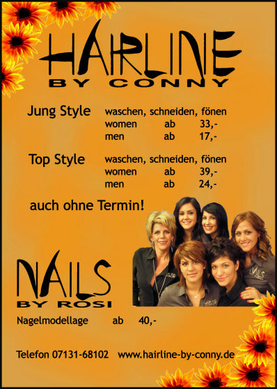 Hairline by Conny - Poster & Flyer 1 Nov 2008 13P