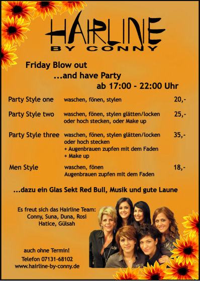 Hairline by Conny - Poster & Flyer 2 Nov 2008 13P